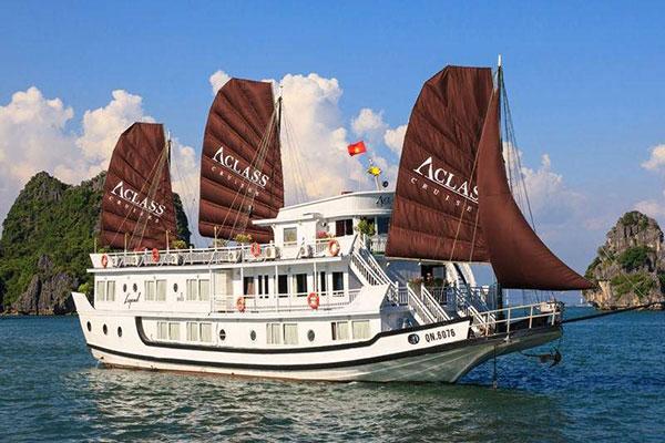 Halong Apricot Cruise 3 Ngày 2 đêm Các Gói Tùy Chọn Khác Nhau.
