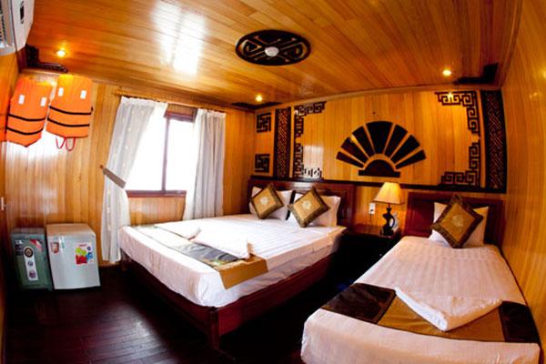 Tour Golden Bay Cruise 2 Ngày 1 đêm Phục Vụ Tốt
