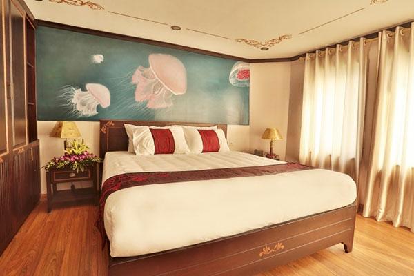 Hương Hải SeaLife Cruise 2 ngày 1 đêm phòng ngủ tiện nghi