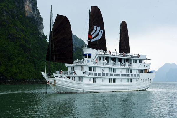 Tour Du Thuyền Hạ Long V'Spirit Cruise 2 Ngày 1 đêm